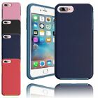 Hard Gummy Hybrid Case Anti Shock Protective Cover Soft TPU  For Apple iPhone 7