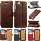 For Apple iPhone 7/7 Plus Luxury Flip Cover Wallet Card Leather Phone Stand Case