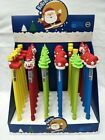 Lot Christmas Cartoon stationery Core Gel pen School supplies O385