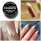 Rose Gold Chrome Mirror Effect Nail Pigment Powder New Trend Nails Various Sizes