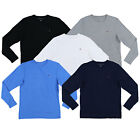 Tommy Hilfiger Mens T-shirt Long Sleeve Crew Neck Tee Flag Logo Casual New Nwt
