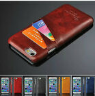 Luxury PU Leather Skin With Card Slot Back Cover Case For Apple iPhone 7/ 7 Plus