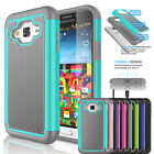 Shockproof Armor Hybrid Rugged Rubber Case Cover for Samsung Galaxy SKY (S320VL)
