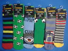 1 PAIR OF BOYS THERMAL NON SKID GRIPPER HOUSE SLIPPER BED HOUSE LOUNGE SOCKS