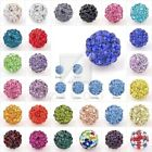 5-20Stk Kristall Disco Ball Beads Perlen Strasssteine Schmuck 6/8/10/12/16/20mm
