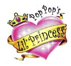 Pop Pop Princess T Shirt Infant toddler Christmas Birthday Baby Shower U.S Sz