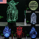 US Seller Star Wars Death Star 3D LED Night Light Touch Switch Table Desk Lamp $16.99 USD
