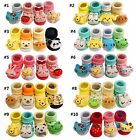 4 PAIRS Baby Toddler Infant Non-skid Anti Slip Cotton Socks Gift Kids Child