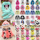 Toddler Kid's Baby Girls Boys Mickey Minnie Hoodies Coats Jackets Outerwear Tops