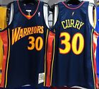 STEPHEN CURRY WARRIORS MITCHELL & NESS 100% AUTHENTIC JERSEY ROOKIE 2009-10 NEW