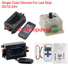 DC12-24V Single Color RF Wireless Dimmer Remote Controller Led Strip 5050 3528