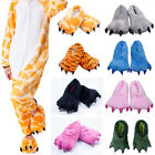 New Adult Unisex Cartoon Animal Kigurumi Cosplay Pajamas Slippers Paw Claw Shoes