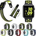 Sports Replacement Silicone Run Wrist Band Strap For Apple NlKE Watch Series 2/1