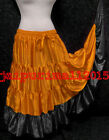Designer Satin Gypsy 25 Yard Skirts Tribal Belly Dance Costumes ATS 25 YD SKIRT