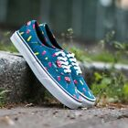 VANS Authentic (Pool Vibes) Blue Ashes/True White Men's Shoes NEW