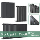 Horizontal Flat Panel Designer Radiator Bathroom Central Heating Rads Anthracite