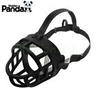 Basket Dog Muzzle Flexible Plastic Cage Adjustable Nylon -Large Small Medium Dog