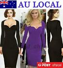 Office Work Bridesmaid Wedding Guests Formal Party Sheath Slim Fit Pencil Dress