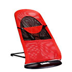 New Baby Bouncer Baby Bassinet Portable Bassinet Baby Travel Bed Black Red Mesh