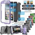 For Samsung Galaxy Luna /J1 2016 Armor Hybrid Belt Clip Holster Stand Case Cover