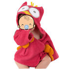 Lovely Baby Boys Girls Cartoon Hooded Bathrobe Child Toddler Bathing Towel Robe
