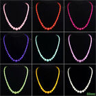multi color jade gemstone beads necklace 6mm 8mm 10mm 12mm 14mm 18""