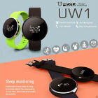 U Watch UW1 Smart Bracelet IP67 Bluetooth Watch Heart Rate SMS For IOS & Andriod