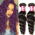 100% Indian Loose Wave Hair 3 Bundles Wet and Wavy Raw Human Hair Extension 300g
