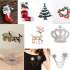 Beauty Crystal Pin Brooch Gift Fashion Women Jewelry Party Wedding Accessories