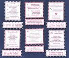 It's A Girl Baby's Birth Verse Toppers W/WO Matching Sentiment Message Banners