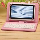 "IRULU 7"" New Google Android 4.4 Quad Core Dual Camera 16GB Tablet PC w/ Keyboard"