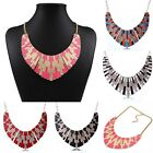 5 Colors New Women's Shell Sector Resin Bib Collar Choker Necklace Party Gift
