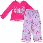 NEW Girls Christmas It's Cold Outside Pajamas Size XS/4-5