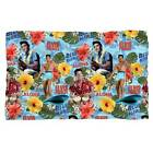 "Elvis Presley Blue Hawaii Fleece Blanket 36"" x 58"" 48"" x 80"""