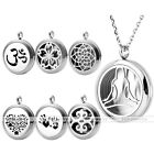 1pc Chic Silver Stainless Steel Openable Locket Pendant Fit for Chain Necklace