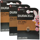 Duracell Silver Oxide 1.5V Watch Batteries ALL SIZES