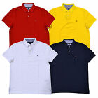 Tommy Hilfiger Polo Shirt Mens Performance Wicking Uv Protection Pique New Nwt