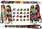 Marvel Avengers Lanyard Set w/ 5 Themed Disney Park Trading Pins ~ Brand NEW