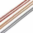 "600mm Silver/Gold/Rose gold Plated Box Link Chain For Locket Necklace 23.62"" New"