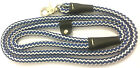 Dog Trigger Clip Lead Walk Nylon Rope 122cm x 12mm Strong 4 colours Small Hook