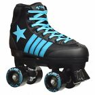 New Epic Star Hydra Blue Sneaker Style High-Top Quad Roller Skate + 2 laces