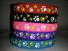 Beastie Band Cat Collars - =^..^= Purrfectly Comfy - PAW PRINTS