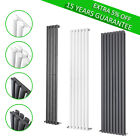 Vertical Designer Oval Panel Column Radiator Modern Bathroom Central Heating Rad