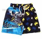 Boys batman character swim shorts, swimwear - Ages 3/4, 5/6, 7/8, 9/10yrs