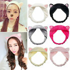 Womens Girls Awesome Cute Cat Ears Headband Hair Head Band Party Gift Headdress