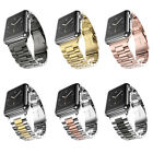 Replacement Bracelet Stainless Steel iWatch Strap Band Clasp for Apple Watch
