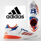 adidas Crazy Power Men's Weightlifting Boots White Red Blue Trainers Shoes