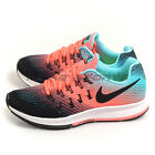 Nike Wmns Air Zoom Pegasus 33 Black/Black-Lava Glow Running Shoes 831356-005