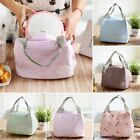 Portable Travel Insulated Thermal Cooler Lunch Box Picnic Carry Tote Storage Bag