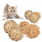 UP Funny Cat Ball Play Toys Ball Coated with Catnip Bell Toy for Pet Kitten LI